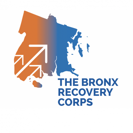 The Bronx Recovery Corps logo.